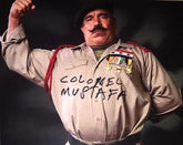 "Highspots - The Iron Sheik ""Colonel Mustafa"" Hand Signed 8x10 *Inc COA*"