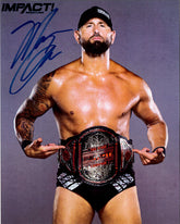 "Highspots - Karl Anderson ""Impact Tag Champion"" Hand Signed 8x10 *inc COA*"