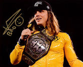 "Highspots - Matt Riddle ""On The Mic"" Hand Signed 8x10 *inc COA*"