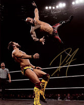"Highspots - Ricochet ""Sprinboard Action Shot"" Hand Signed 8x10 *inc COA*"