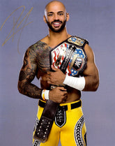 "Highspots - Ricochet ""WWE United States Champion"" Hand Signed 8x10 *inc COA*"