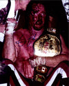 "Highspots - Terry Funk ""Crimson Mask"" Hand Signed 8x10 *inc COA*"
