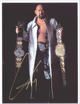 "Highspots - Great Muta ""Champ Champ"" Hand Signed A4 Photo *inc COA*"