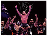 "Highspots - Kenny Omega ""Bullet Club Celebration"" Hand Signed A4 *inc COA*"