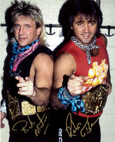 "Highspots - Rock n Roll Express ""Locker Room Pose"" Hand Signed 8x10 *Inc COA*"