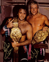 "Highspots - Rock n Roll Express ""Champions"" Hand Signed 8x10 *Inc COA*"