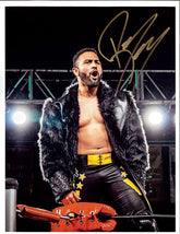 "Highspots - Rocky Romero ""Turnbuckle Pose"" Hand Signed A4 Photo *inc COA*"