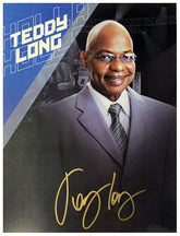"Highspots - Teddy Long ""General Manager"" Hand Signed A4 *inc COA*"