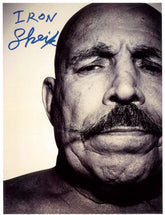 "Highspots - The Iron Sheik ""Close Up"" Hand Signed A4 *Inc COA*"
