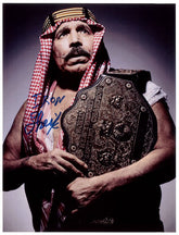 "Highspots - The Iron Sheik ""World Champion"" Hand Signed A4 *Inc COA*"