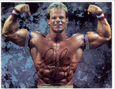"Highspots - Lex Luger ""Double Biceps"" Hand Signed A4 *inc COA*"