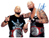 "Highspots - Luke Gallows ""WWE Tag Team Champions"" Hand Signed A4 *inc COA*"