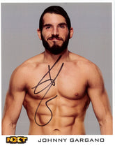NXT - Johnny Gargano Hand Signed 8x10 *inc COA*