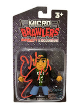 Impact Wrestling - Micro Brawlers : Eddie Edwards Figure *Hand Signed * Numbered
