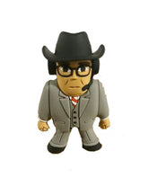 Micro Brawlers :  Jim Ross Figure