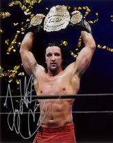NJPW - Jay White Hand Signed 8x10 Champion *inc COA*