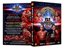 NJPW - G1 Special in USA 2017 : Night 2 (2 Disc DVD Set)