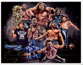 "NJPW - Kenny Omega Hand Signed A4 ""Collage *inc COA*"