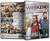 PWG -  All Star Weekend 10 Night 2 - 2013 Event DVD ( Pre-Owned )
