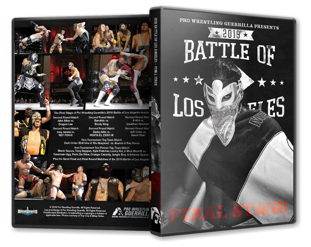 PWG - BOLA : Battle of Los Angeles 2019 - Final Stage Event Blu-Ray