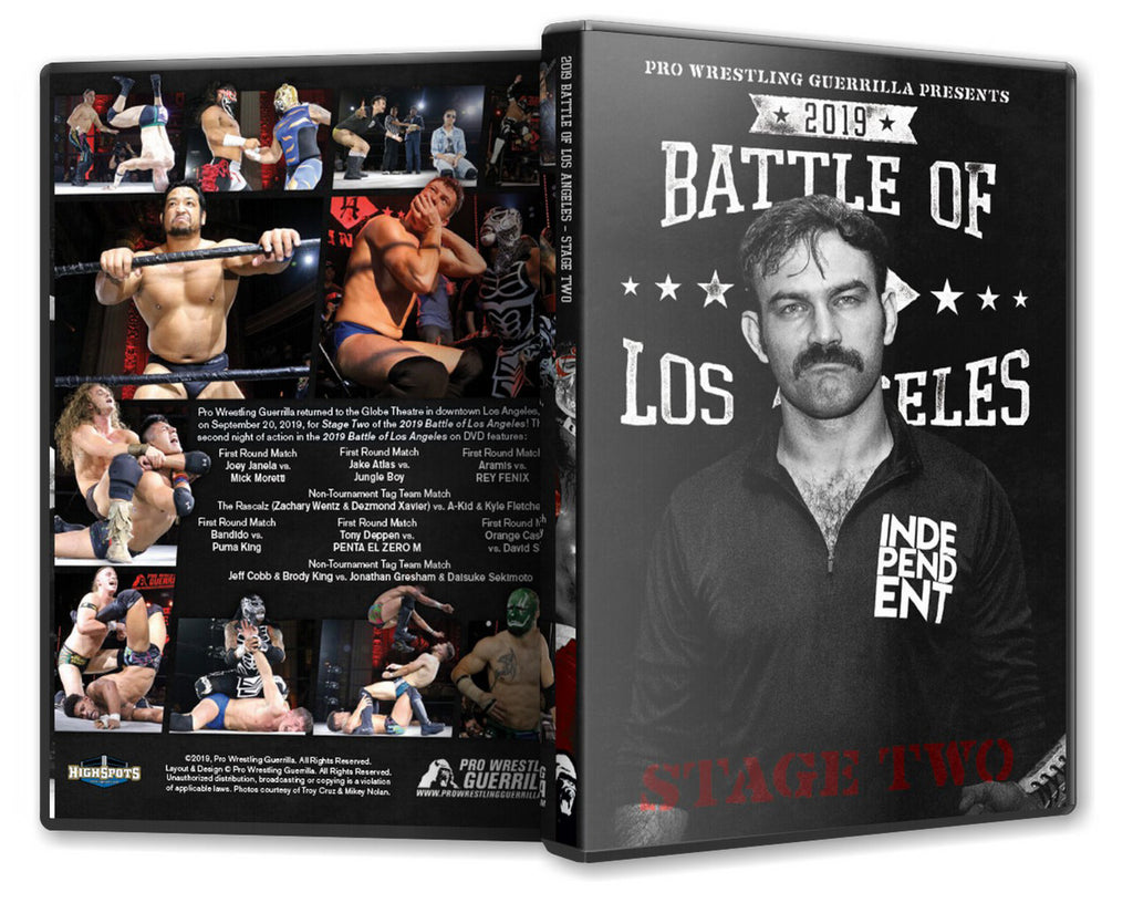 PWG - BOLA : Battle of Los Angeles 2019 - Stage 2 Event DVD