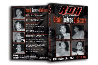 ROH - Death Before Dishonor 2003 Event DVD (Pre-Owned)