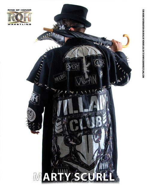 ROH - Marty Scurll 2017 UK Tour 8x10