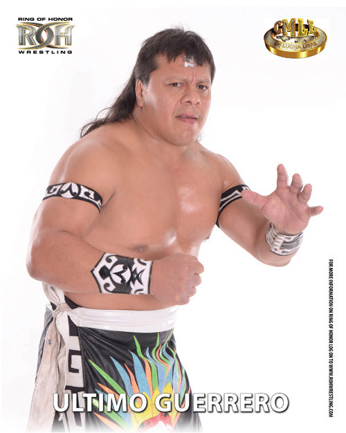 ROH - Ultimo Guerrero 2017 UK Tour 8x10