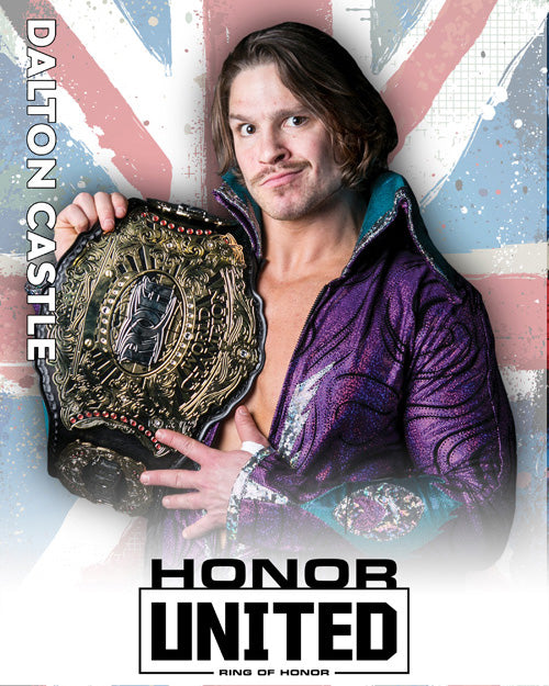 ROH - Dalton Castle 2018 UK Tour 8x10
