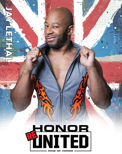 ROH - Jay Lethal 2018 August UK Tour 8x10