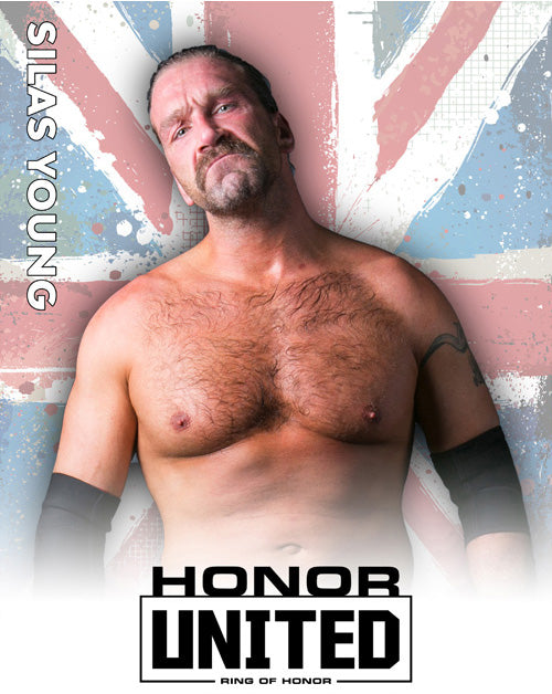 ROH - Silas Young 2018 UK Tour 8x10
