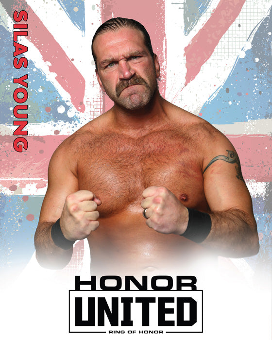 ROH - Silas Young : Honor United 2019 8x10