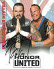 ROH - Villain Enterprises ( PCO & Brody King ) Autographed Honor United 2019 8x10