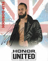 ROH - Flip Gordon Autographed Honor United 2019 8x10