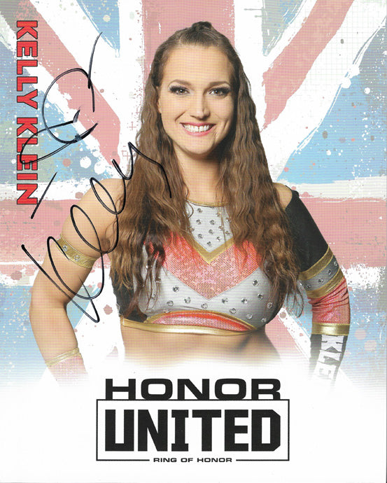 ROH - Kelly Klein Autographed Honor United 2019 8x10