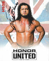 ROH - Rush Autographed Honor United 2019 8x10
