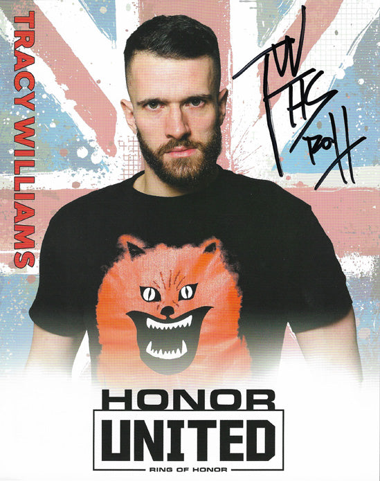 ROH - Tracy Williams Autographed Honor United 2019 8x10