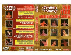 ROH - 2nd Year Anniversary Show 2004 Event DVD (Pre-Owned)