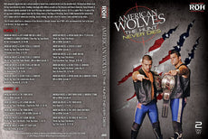 "ROH - The American Wolves ""The Hunt Never Dies"" 2 Disc DVD Set ( Pre-Owned )"