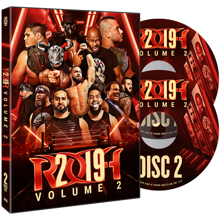 ROH - Best Of 2019 Volume 2 - 2019 Event 2 DVD Set