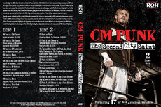 ROH - Best of CM Punk : Second City Saint (2 Disc) DVD ( Pre-Owned )