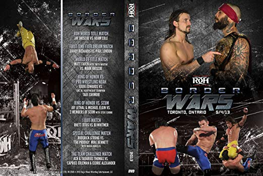 ROH - Border Wars 2013 Event DVD ( Pre-Owned )