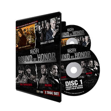 ROH - Bound By Honor 2018 Double Event 2 Disc DVD Set