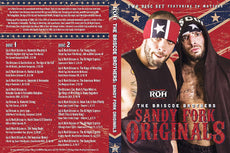 ROH - Briscoe Brothers : Sandy Fork Originals 2 Disc DVD Set ( Pre-Owned )