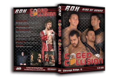 ROH - Caged Collision PPV 2009 Event DVD (Pre-Owned)