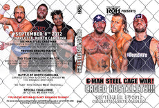 ROH - Caged Hostility 2012 Event DVD ( Pre-Owned )