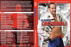 "ROH - Claudio Castagnoli ""The Swiss Sensation"" 2 Disc DVD Set ( Pre-Owned )"