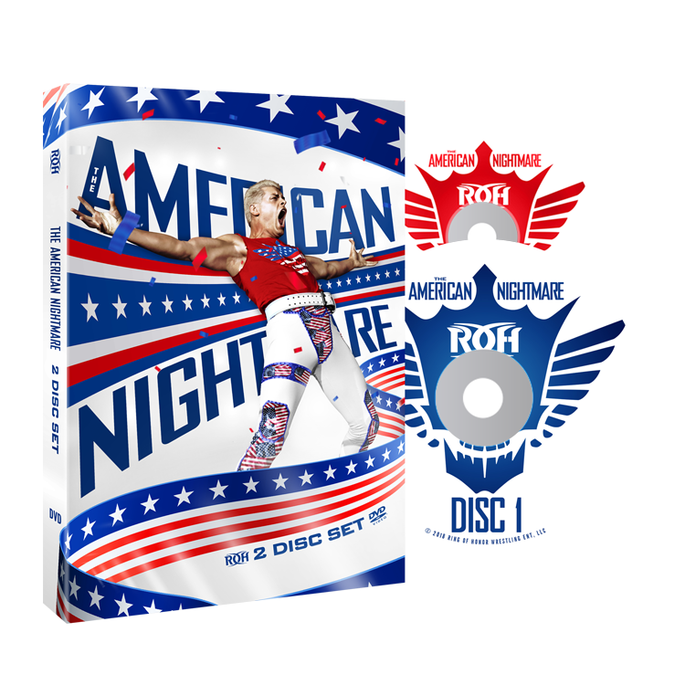 "ROH - Best Of Cody ""The American Nightmare"" 2 Disc DVD Set"