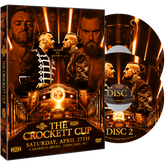 ROH - Crockett Cup 2019 Event 2 DVD Set
