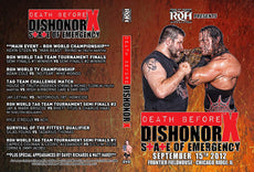 ROH - Death Before Dishonor X (10) 2012 Event DVD ( Pre-Owned )